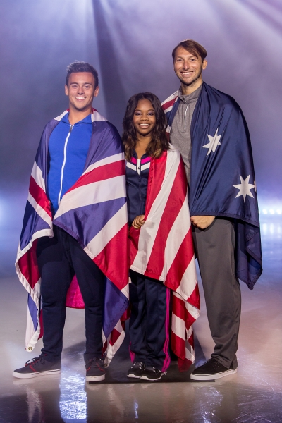 U.S. gymnast Gabby Douglas, British diver Tom Daley and Australian swimmer, Ian Thorpe put a tropical twist on cold-weather sports favorites, and compete in the Caribbean Cup Challenge