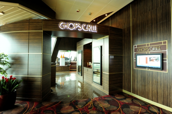 Royal Caribbean's Signature Chops Grille Steakhouse