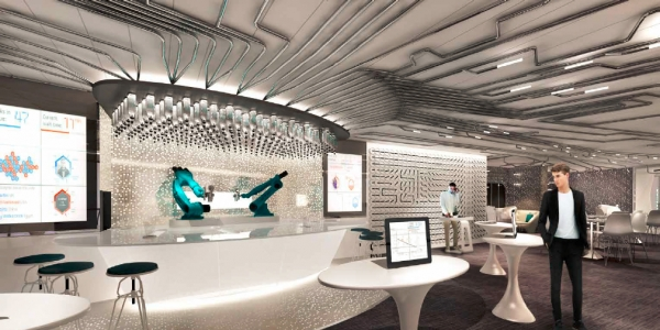 A brand new venue onboard Quantum of the Seas, Bionic Bar, powered by Makr Shakr,is set to make waves with robots at center stage. Guests place orders via tablets and then have fun watching robotic bartenders hard at work mixing cocktails.
