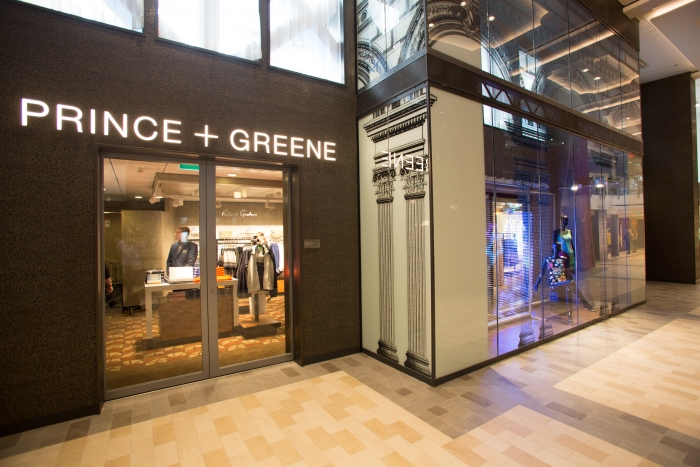 Royal Caribbean International launches Quantum of the Seas, the newest ship in the fleet, in November 2014 Prince and Green retail outlet.