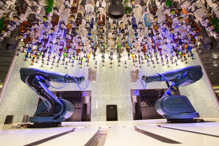 Image result for the bionic bar royal caribbean