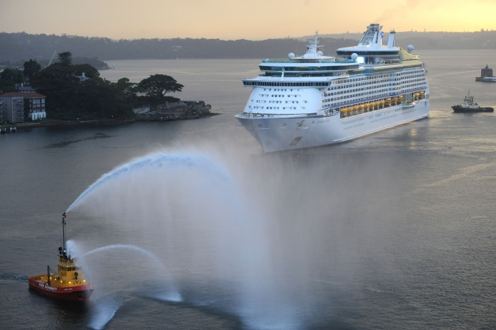 December 2014 - Voyager of the Seas arrives into Australia after her month long $80 revitalization. The ship will sail from Sydney for the 2014/15 winter season.