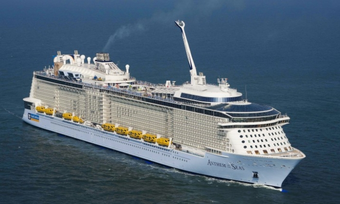 Anthem of the Seas is officially delivered to Royal Caribbean