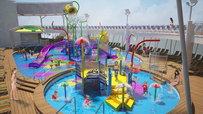 Harmony Of The Seas To Debut New Aquatic Adventure Park