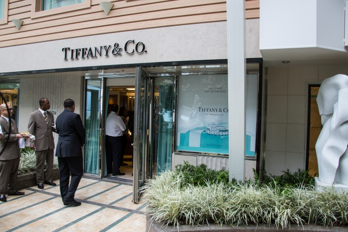 Royal Caribbean International and Tiffany & Co. today announced the first ever free-standing boutique at sea onboard Royal Caribbean's Oasis of the Seas. The store is located in the ship's lush Central Park neighborhood and will offer a full selection of Tiffany jewelry, including engagement rings and the recently introduced Tiffany T and Atlas collections, as well as Swiss made CT60 watches