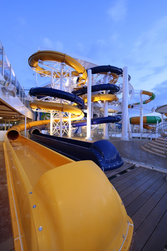 The Perfect Storm onboard Harmony of the Seas.