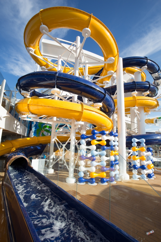 The Pefect Storm onboard Harmony of the Seas.Copyright, Simon Brooke-Webb Photography