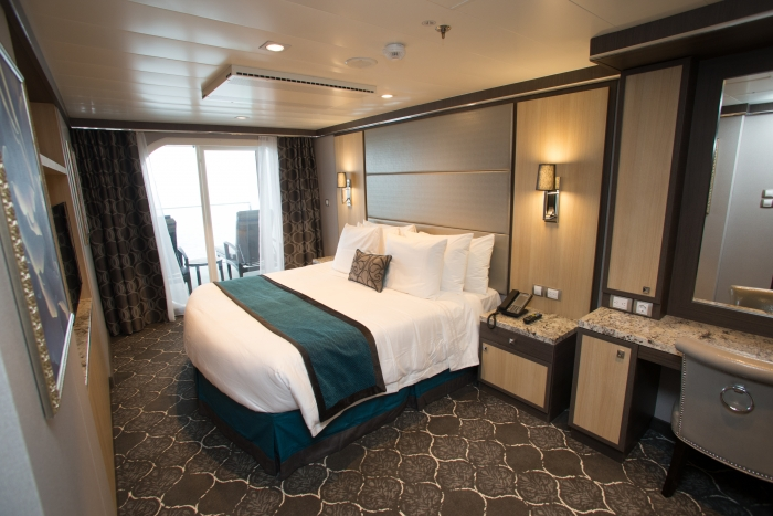 Royal Family Suite with BalconyonboardHarmony of the Seas.