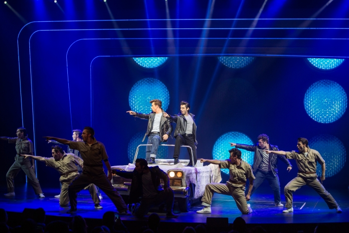 Grease, performed in the Royal Theater, onboardHarmony of the Seas.