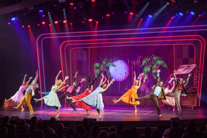 Grease, performed in the Royal Theater, onboardHarmony of the Seas.  Copyright, Simon Brooke-Webb Photography