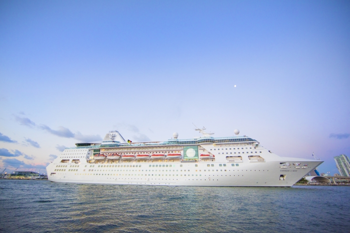 MIAMI, May 25, 2016– Miami's newest hometown ship,Empress of the Seas,arrived to her new homeport today after a $50 million revitalization.
