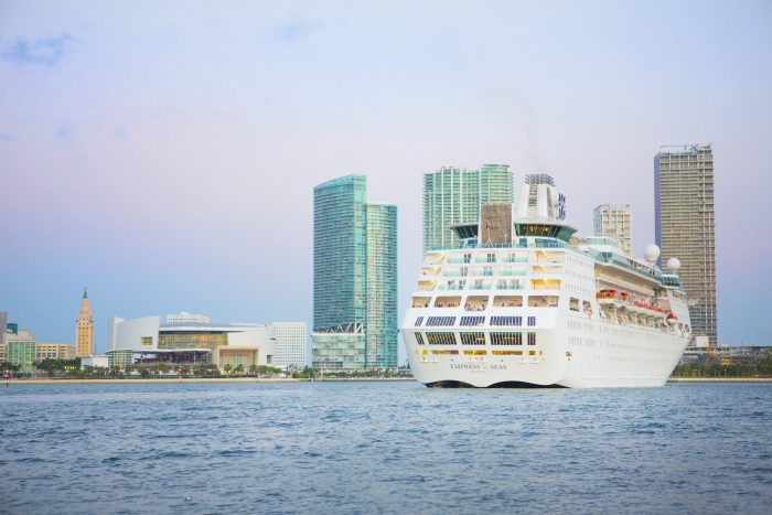 MIAMI, May 25, 2016 – Miami's newest hometown ship, Empress of the Seas, arrived to her new homeport today after a $50 million revitalization.