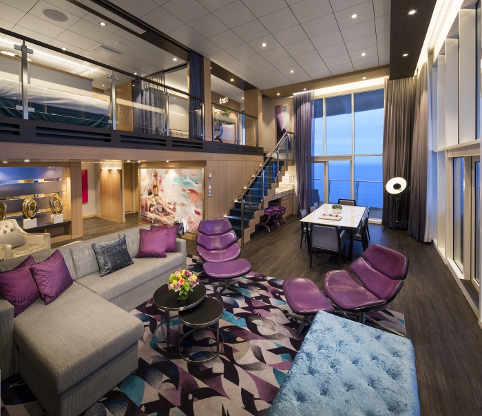 Royal Loft Suite onboard Harmony of the Seas.