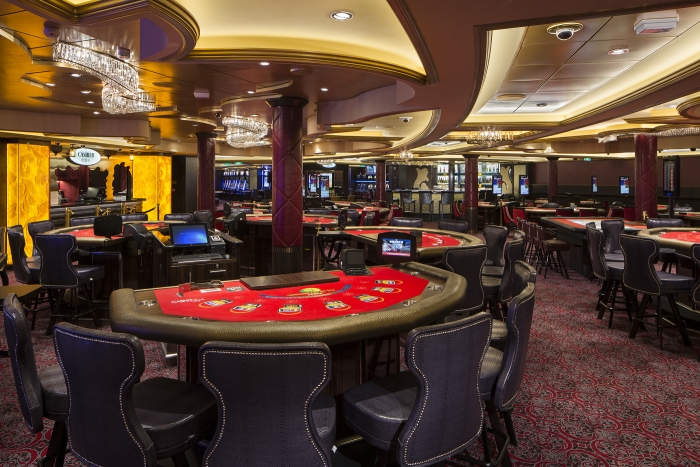 Casino Royale onboardOvation of the Seas.