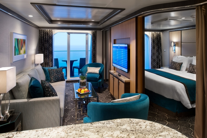 Grand Suite onboard Harmony of the Seas.