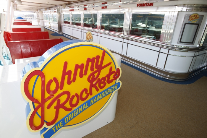 Johnny Rockets onboard Independence of the Seas.