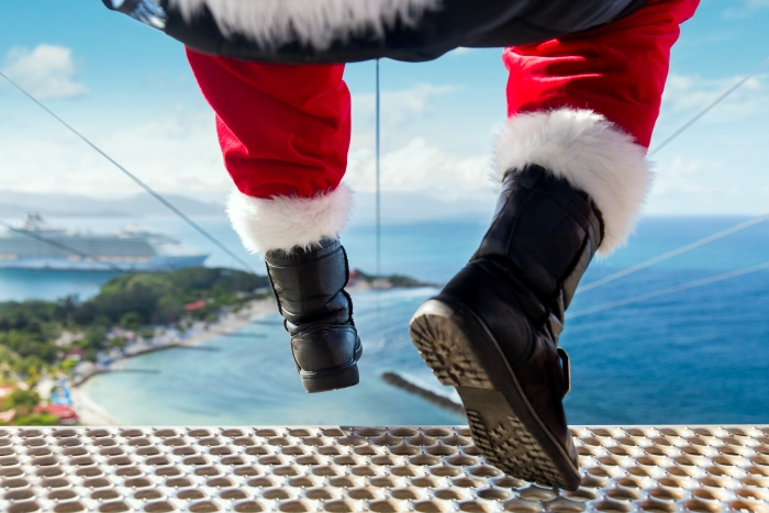 Royal Caribbean will bring guests holiday cheer at every turn throughout December 2016.