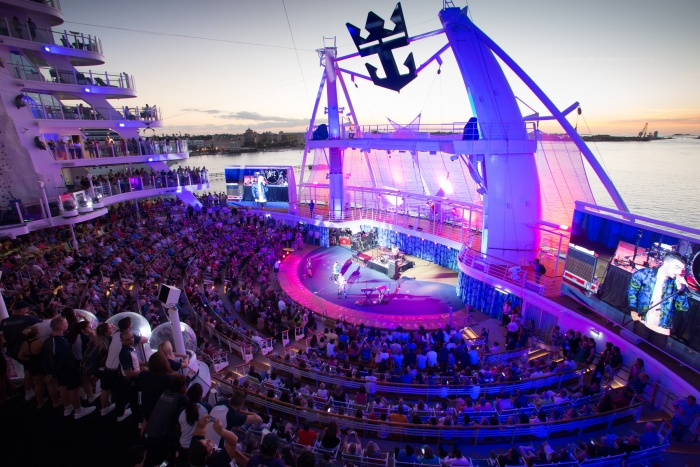 Multi-platinum selling band DNCE and a special guest will headline Royal Caribbean's Total Eclipse Cruise aboard Oasis of the Seas on Aug. 21, 2017, celebrating the Great American Eclipse -- a celestial phenomenon 99 years in the making.