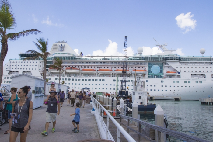 Royal Caribbean's Empress of the Seas was the first ship to visit Key West after the devastating effects of Hurricane Irma. In addition, to stopping in Key West the ship brought much needed supplies to the area.