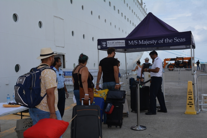 Royal Caribbean's Majesty of the Seas recently dropped off hurricane relief supplies in St. Marteen and St. Thomas after Hurricane Irma. In addition, the company worked with the local government to evacuate residents.