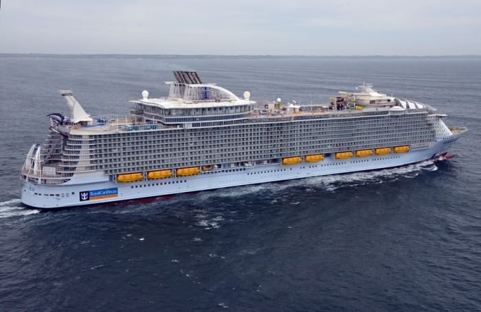 February 2018 - Symphony of the Seas recently returned from her four day Sea Trial where more than 80 tests were performed onboard.
