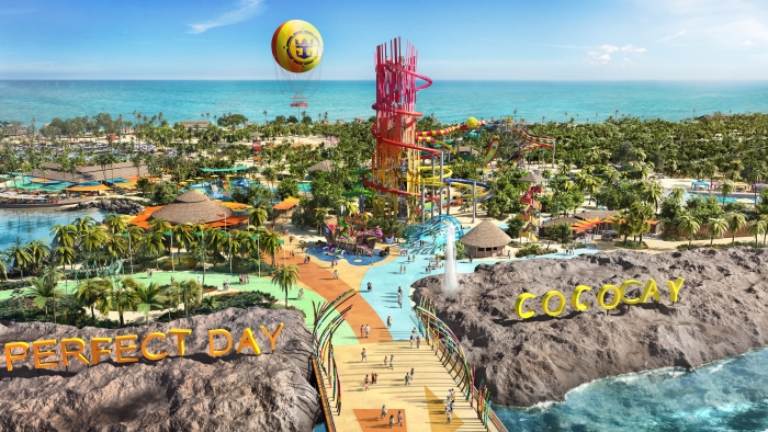 Perfect Day at CocoCay, Bahamas boasts a number of experiences and iconic features giving adventurous vacationers first time experiences that will top any bucket list.