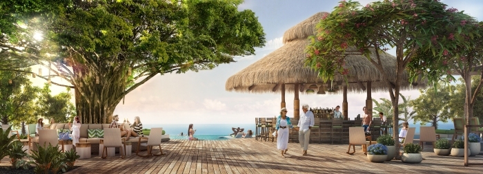 At the exclusive Coco Beach Club, guests will experience an upscale take on the island's authentic Caribbean vibe. The first and only overwater cabanas in The Bahamas will offer discerning guests a new level of laid-back luxury.
