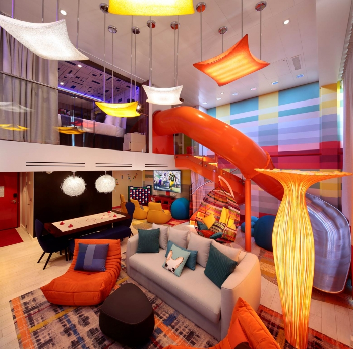 Ultimate Family Suite onboard Symphony of the Seas