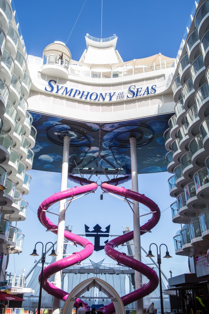 The Ultimate Abyss onboard Symphony of the Seas