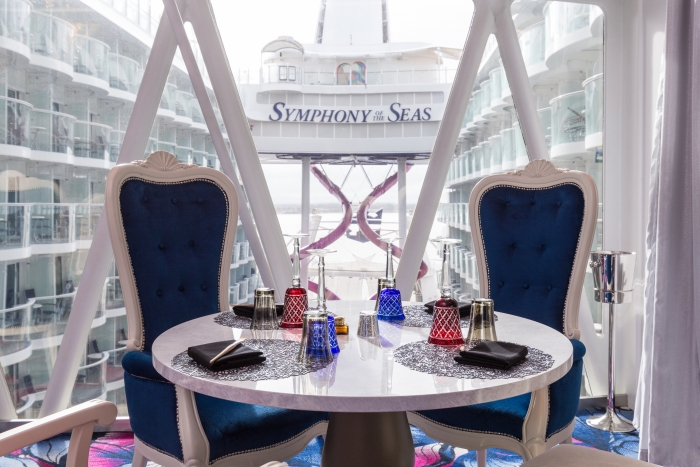 Wonderland Imaginative Cuisine onboard Symphony of the Seas