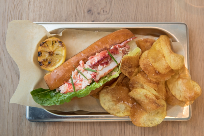 Lobster Roll at Hooked Seafood onboard Symphony of the SeasCredit SBW-Photo