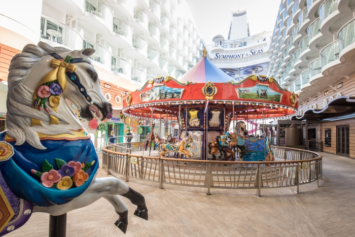 The Carousel onboard Symphony of the SeasCredit SBW-Photo