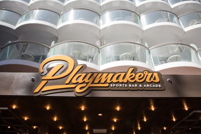Playmakers Sports Bar & Arcade onboard Symphony of the SeasCredit SBW-Photo