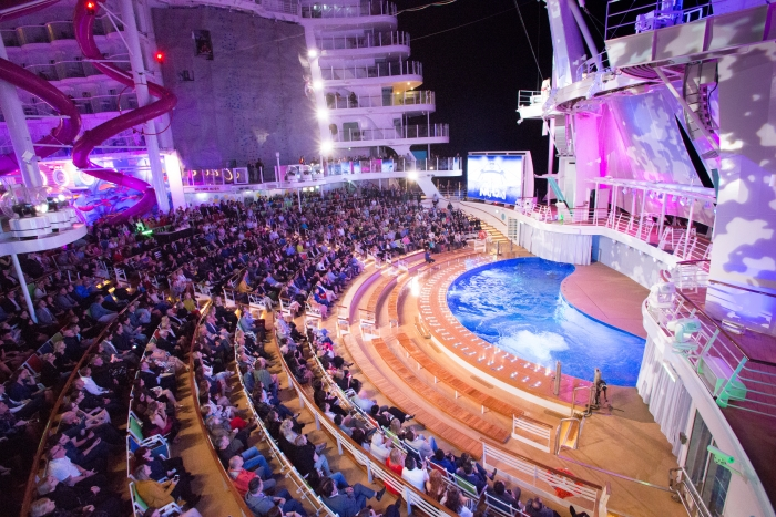 AquaNation Show onboard Symphony of the SeasCredit SBW-Photo