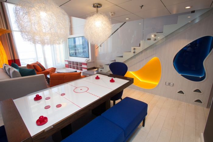 The Ultimate Family Suite onboard Symphony of the Seas