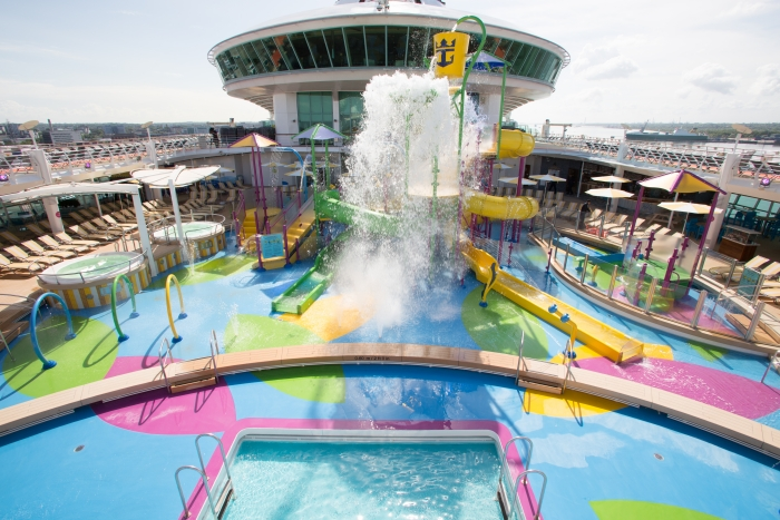 May 2018 - Splashaway Bay on board the new amped up Independence of the Seas