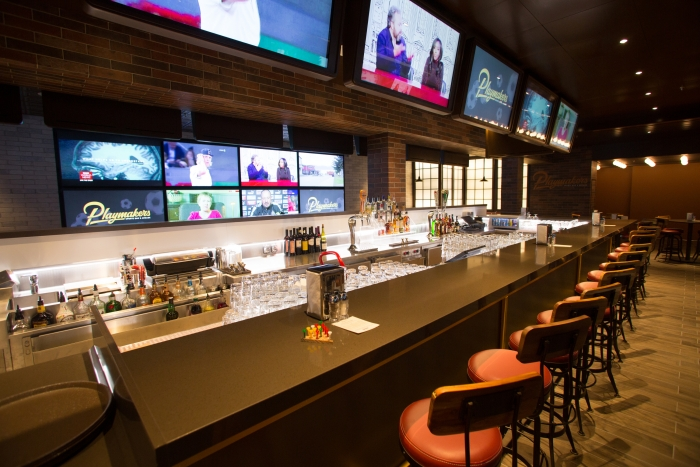 May 2018 - Playmakers Sports Bar & Arcade on board the new amped up Independence of the Seas