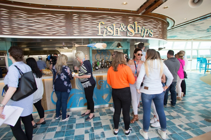 May 2018 - Fish & Ships on board the new amped up Independence of the Seas