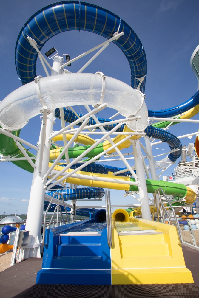 May 2018 - The Perfect Storm onboard the new amped up Independence of the Seas