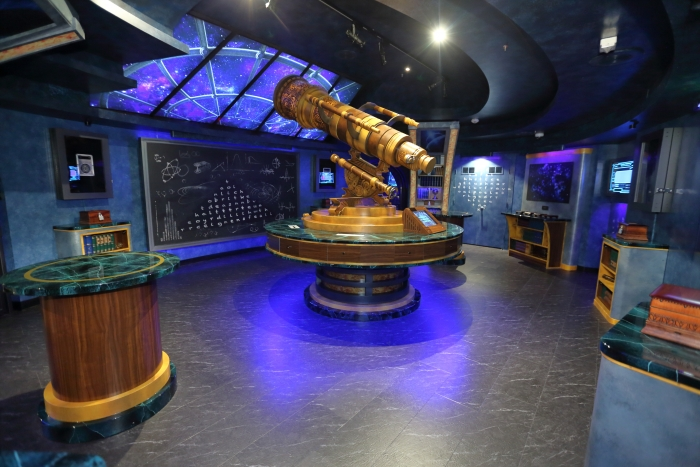 Escape Room: The Observatorium, the newest escape room challenge onboard the reimagined Mariner of the Seas.