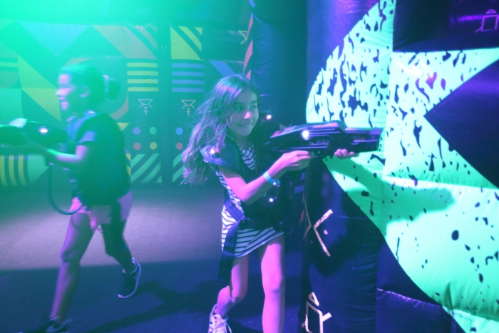 Laser Tag: Battle for Planet Z is a glow-in-the-dark laser tag experience onboard the new amped up Mariner of the Seas.