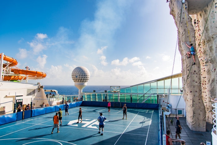 Sports Court on Liberty of the Seas