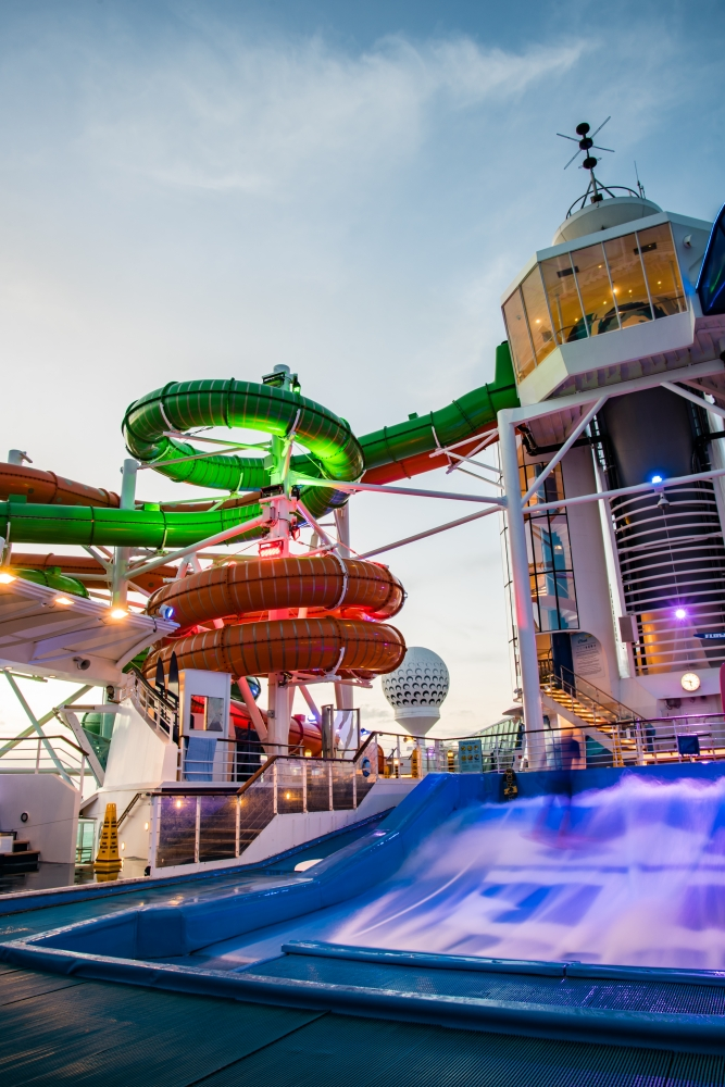 The Perfect Storm on Liberty of the Seas