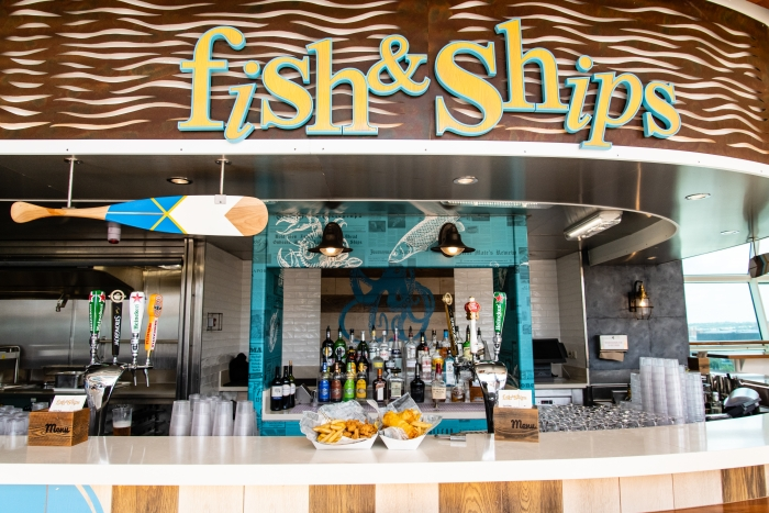 Fish & Ships onboard Independence of the Seas.
