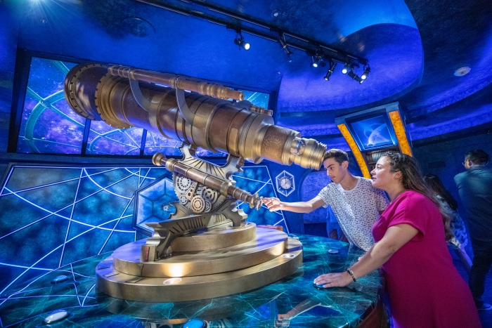 Navigator of the Seas' Royal Escape Room: The Observatorium.