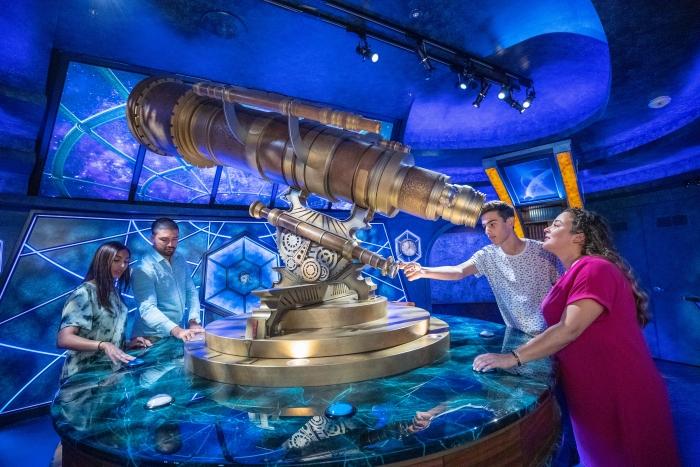 Navigator of the Seas' Royal Escape Room: The Observatorium.