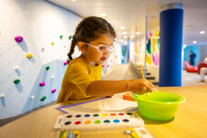 March 2019 - With trained staff and award-winning youth programming, the reimagined Adventure Ocean on board the amplified Navigator of the Seas lets young guests' imaginations roam free with activities organized by interests at every corner.