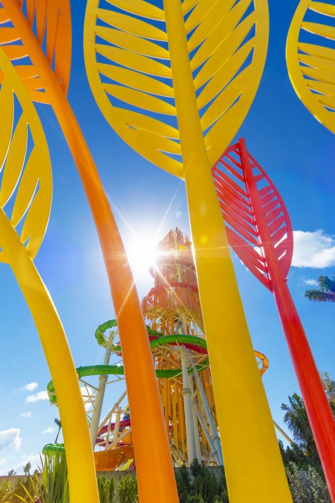 May 2019 – At the heart of Perfect Day at CocoCay, Royal Caribbean's private island destination in The Bahamas, is Thrill Waterpark, daring the most adrenaline-seeking guests to conquer two brag-worthy towers with 13 waterslides – as well as the Caribbean's largest wave pool and the Adventure Pool with a family friendly obstacle course.
