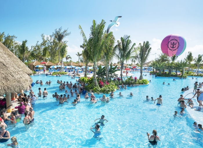 May 2019 – Oasis Lagoon, the largest freshwater pool in the Caribbean – gives guests a variety of options to spend time with family, share a few cocktails with friends or simply sit back under the tropical sun.