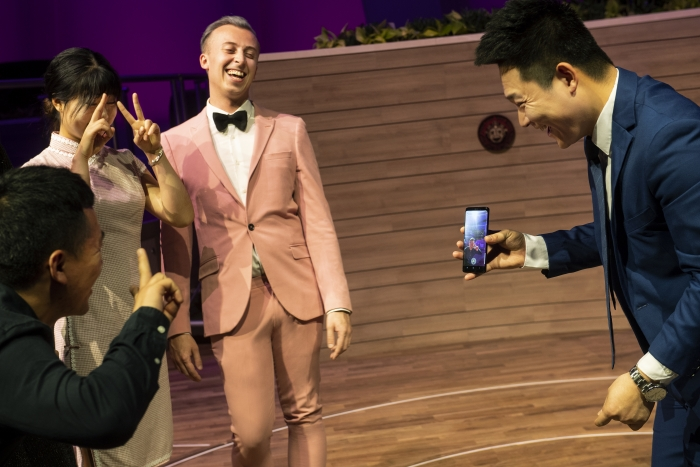 The tech-savvy can head to Two70 on board Spectrum of the Seas to experience an augmented reality game that transports vacationers to new worlds of adventure.